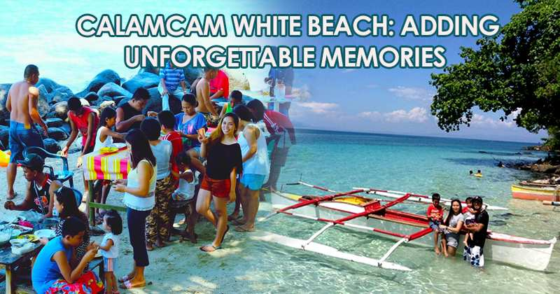 Calamcam White Beach