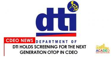 DTI holds screening for next generation of OTOP