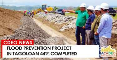 FLOOD PREVENTION PROJECT IN TAGOLOAN