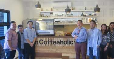 Coffeeholic City Hall Branch Soft Opening