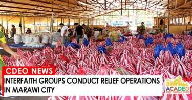INTERFAITH RELIEF OPERATIONS