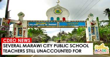 MARAWI TEACHERS
