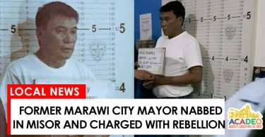 Former Marawi City mayor nabbed by police