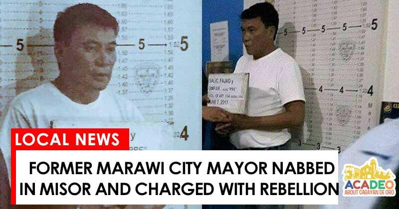 Former Marawi City mayor nabbed by police