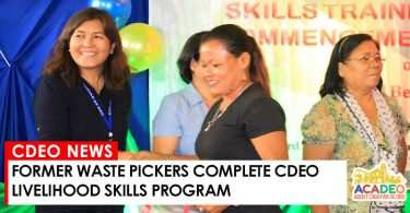 WASTE PICKERS GRADUATED