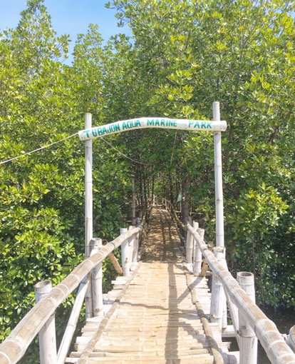 tubajon aqua marine park