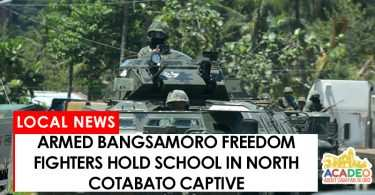 BIFF hostage school in North Cotabato
