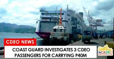 3 cdo passengers interrogated by PCG