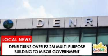 denr turns over multi-purpose building to misor gov