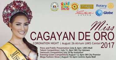 Miss Cagayan de Oro Coronation Night announced