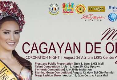 Miss Cagayan de Oro Coronation Night announced