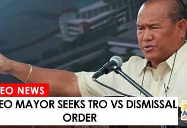 mayor moreno seeks tro vs dismissal order
