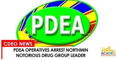 PDEA arrest drug group leader