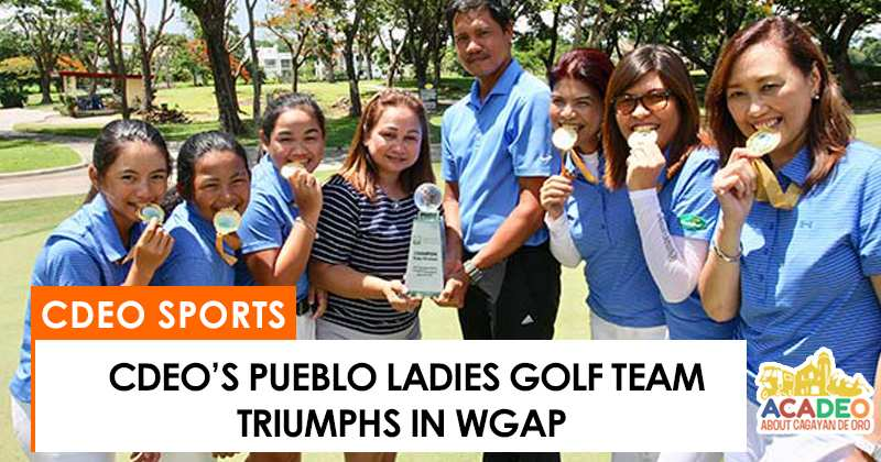 pueblo ladies win in golf tournament in pampanga