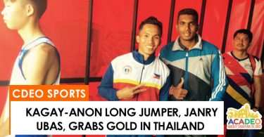janry ubas wins gold in thailand