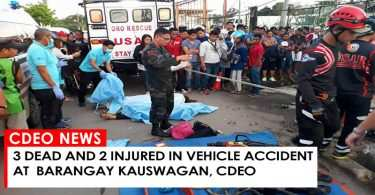 ACCIDENT IN BARANGAY KAUSWAGAN