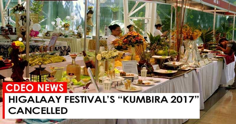 KUMBIRA 2017 CANCELLED