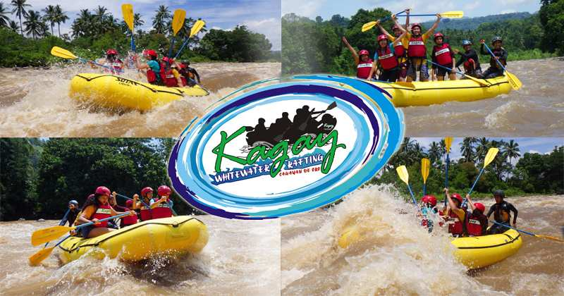 Kagay Whitewater Rafting Facing The Rapids Head On