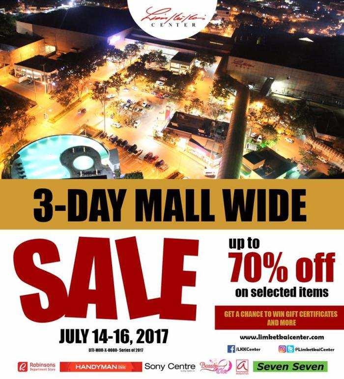 Limketkai Center Three Day Sale