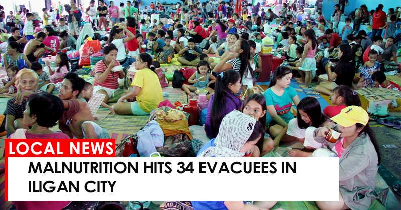 Malnutrition hits 34 Evacuees