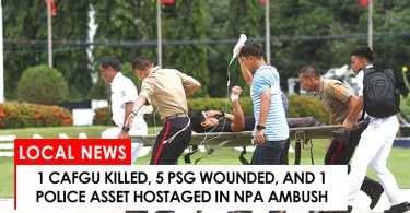 NPA ambushed peace and order personnel in North Cotabato