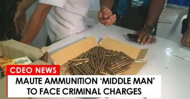 Maute ammunition middle man to face criminal charges