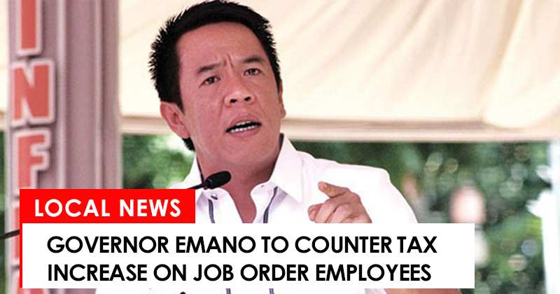 Governor Emano to counter tax increase on job order employees