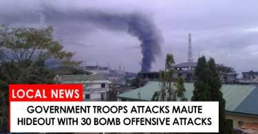 30 bombs released by military troops against Maute terrorists