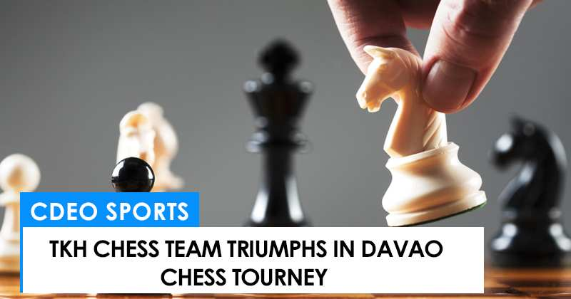 TKH chess team triumphs in Davao tourney