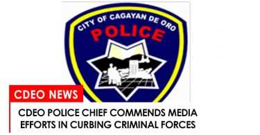 CdeO police chief commends local media efforts against criminality