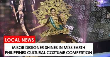 MisOr designer shines in Miss Earth Philippines 2017
