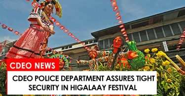 CdeO police department assures tight security in city fiesta