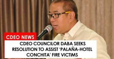 CdeO councilor Daba seeks resolution to help fire victims