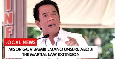Bambi Emano unsure of Martial Law extension