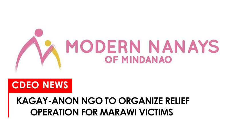 Modern Nanays of Mindanao to organize relief effort for Marawi City victims