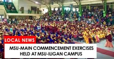 MSU-Main receive diploma at MSU-IIT campus