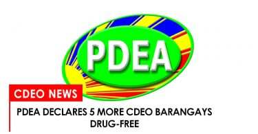 PDEA declares 5 more barangays in CdeO drug free