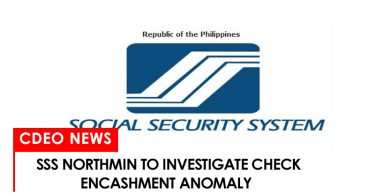 SSS northmin to investigate check encashment anomaly