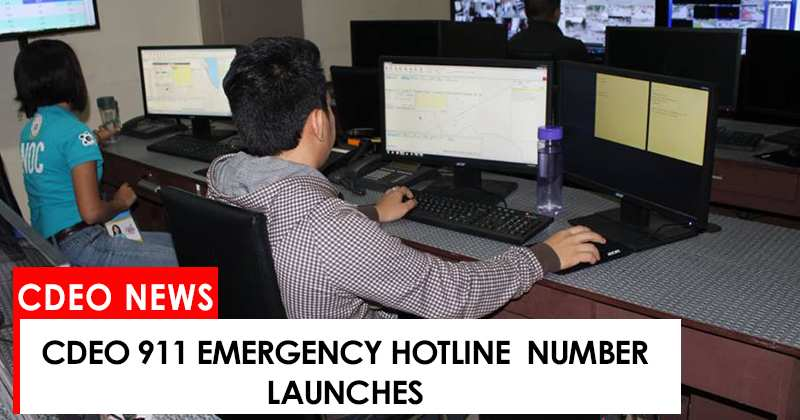 CdeO emergency hotline number launches