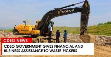 CdeO Government gives financial and business assistance to waste-pickers