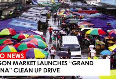 """Cogon Market launches """"grand pahina"""" clean up drive"""