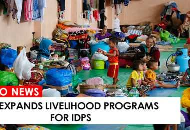 DTI expands livelihood programs for IDPs