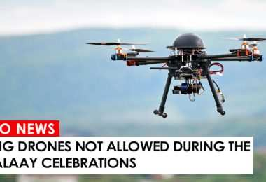 Flying drones not allowed during the Higalaay Celebrations