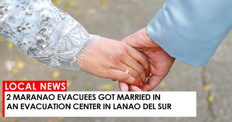 Newlyweds in Lanao