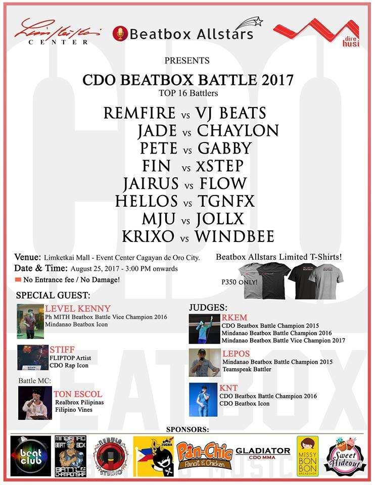CDO beatbox battle 2017