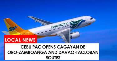 Cebu Pac opens new routes in Mindanao