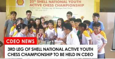 3rd leg of the Shell National Active Youth Chess Championship to be held in CdeO