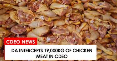 DA intercepts 19,000kg of chicken meat in CdeO