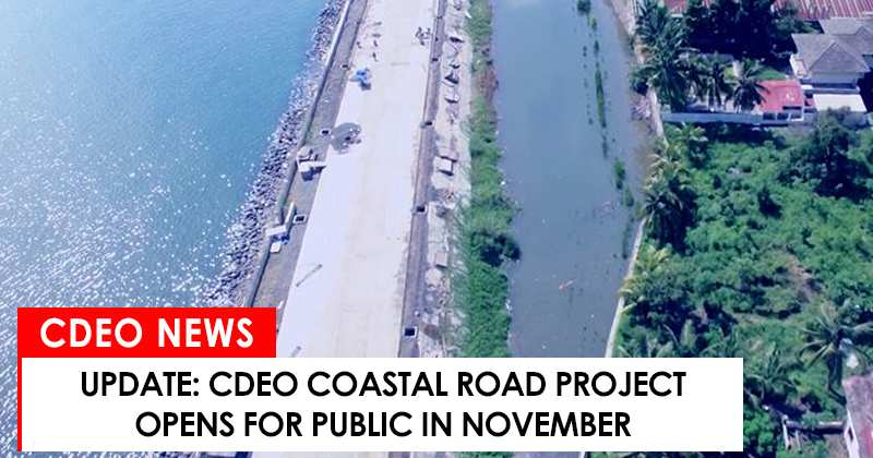 CdeO coastal road opens for public in November