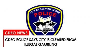 CdeO police says city is cleared from illegal gambling